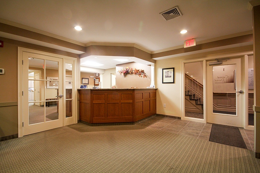 Norwood Dental Lobby